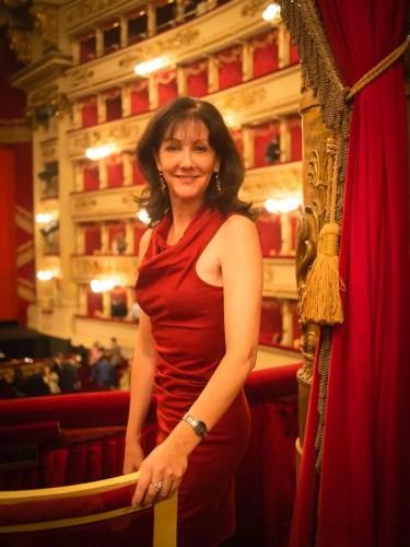 Cynthia Harvey at Milan's La Scala 2013 by Graham Spicer