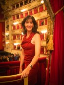 Cynthia Harvey at Milan's La Scala 2013 by Graham Spicer