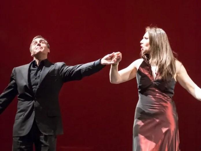 Fabrizio Melloni and Barbara Frittoli