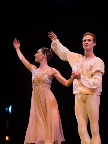 Mara Galeazzi and Edward Watson in Romeo and Juliet