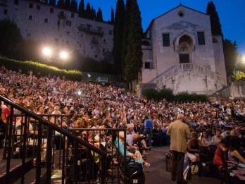 Teatro Romano before the gala