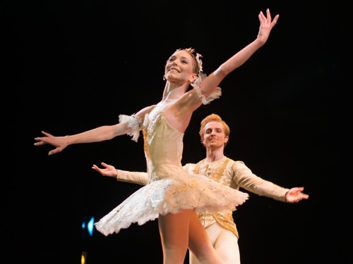 Sarah Lamb and Steven McRae in The Sleeping Beauty