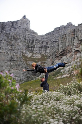 Daria Klimentova in Cape Town with Vadim Muntagirov