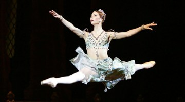 Bolshoi star ballerina Alexandrova will be off the stage for a year