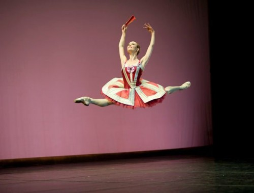 Jurgita Dronina in Don Quixote - photo by Daria Klimentova