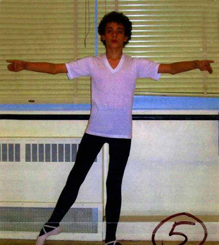 My audition photo for the Royal Winnipeg Ballet School