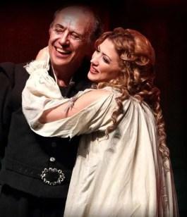 Desirée Rancatore in Rigoletto, Beijing 2011, with Leo Nucci
