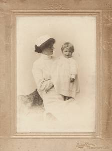 Annie Walker with Benjamin Britten by Boughtons