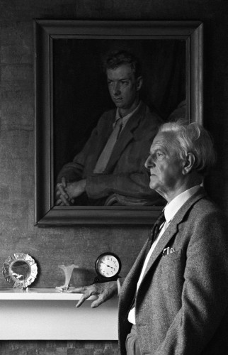 Sir Peter Pears by Malcolm Crowthers, 1984 © Malcolm Crowthers/National Portrait Gallery, London