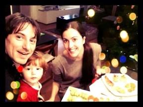 Mick Zeni family Christmas
