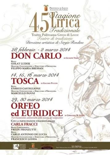 Orfeo Fracci Lecce 2014