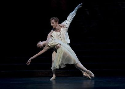 Evgenia Obraztsova and Steven McRae in Romeo & Juliet