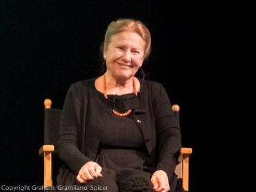 Giulia Lazzini celebrates her 80th birthday at Milan's Piccolo Teatro