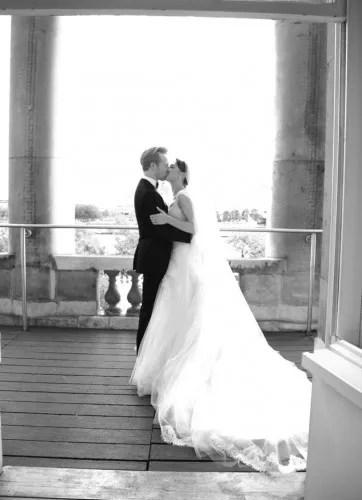 Steven McRae on his wedding day