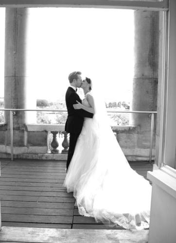 Steven McRae on his wedding day