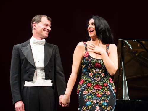 Angela Gheorghiu and Jeff Cohen 2014