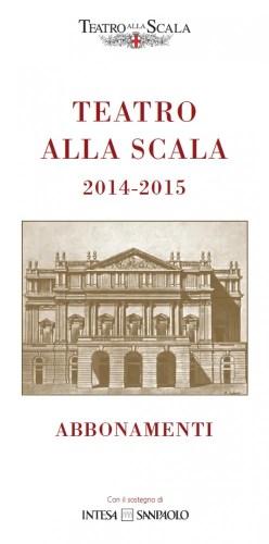 La Scala programme 2014-2015