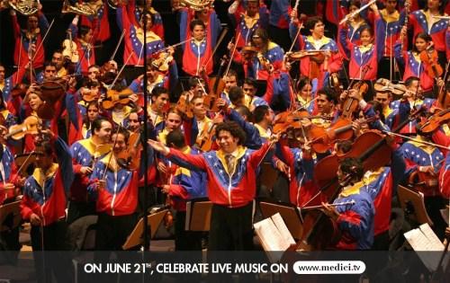Medici tv celebrates Music Day 2014