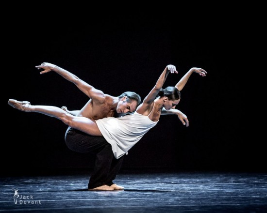 Vera Arbuzova and Andrey Kasyanenko in 'Inside. Behind The Sleep', Russian Ballet Festival Lahti 2013