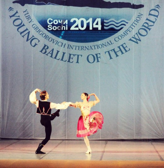 Character piece (with Bolshoi classmate and friend Anya Geladze, as a non competing partner) - Hungarian Czardas