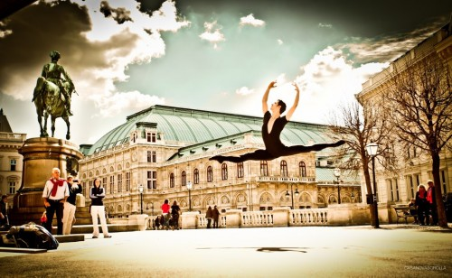 Davide Dato enjoying life in Vienna - copyright Sorolla