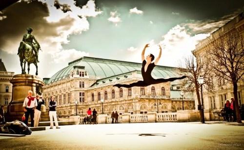 Davide Dato enjoying life in Vienna - copyright Sorolla