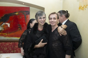 Lady Deborah MacMillan and Luis Ortigoza