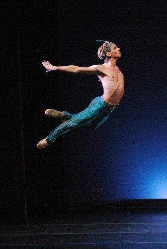 Luis Ortigoza in Le Corsaire in Madrid, Spain