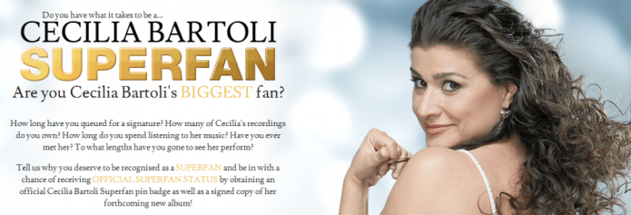 Cecilia Bartoli The superfan hunt