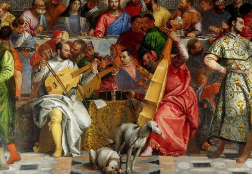 Veronese's The Wedding at Cana - detail