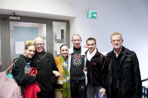 Alicia Amatriain, Hans van Manen, Marcia Haydée, Thierry Michel and Luis Ortigoza.