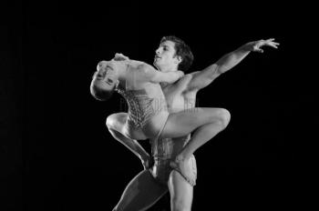 Bridgett Zehr in Petit Mort with with Nathan Young (English National Ballet) - photo by Photography by Ash