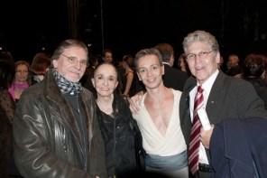 Jiří Kylián, Marcia Haydée, Luis Ortigoza and Richard Cragun