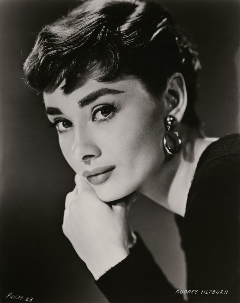 Audrey Hepburn by Bud Fraker, for Sabrina Paramount Pictures, 1954