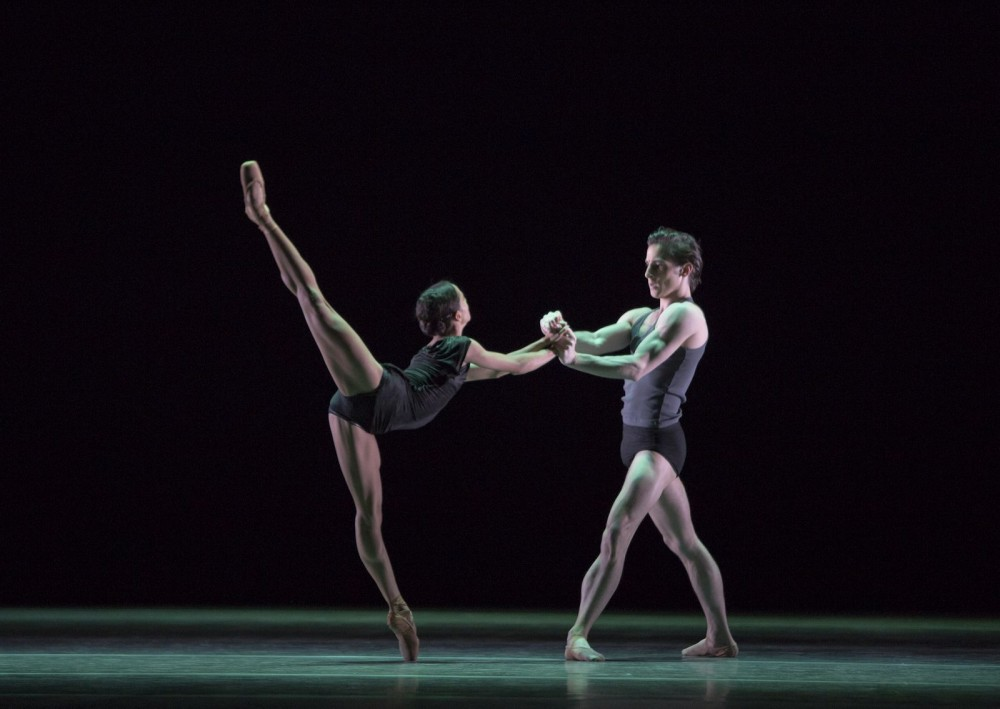 Francesca Hayward and Tristan Dyer in Infra, The Royal Ballet © ROH-Andrej Uspenski, 2012