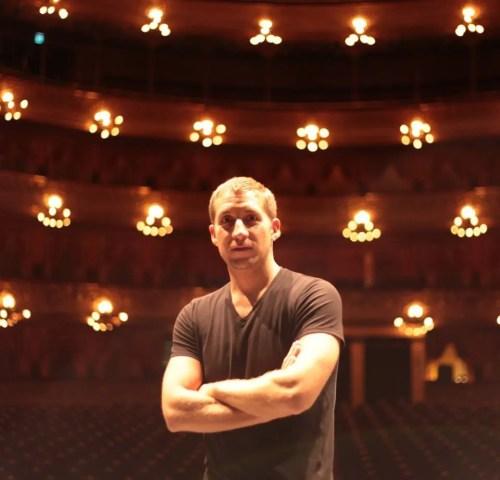 Paul Seaquist at Teatro Colón, Buenos Aires