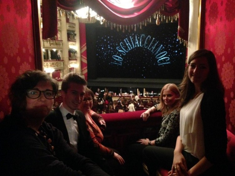 Competition winners at the Nutcracker