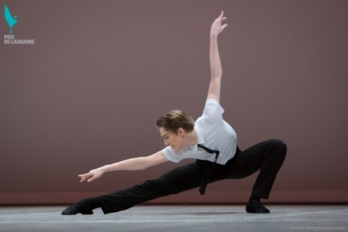 Julian Mackay during the competition - photo by Gregory Batardon