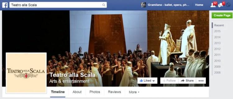 Teatro alla Scala on Facebook