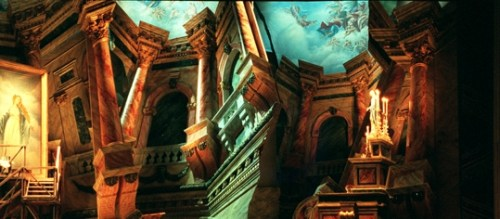 Tosca designed by Margherita Palli - photo Lelli & Masotti, Teatro alla Scala