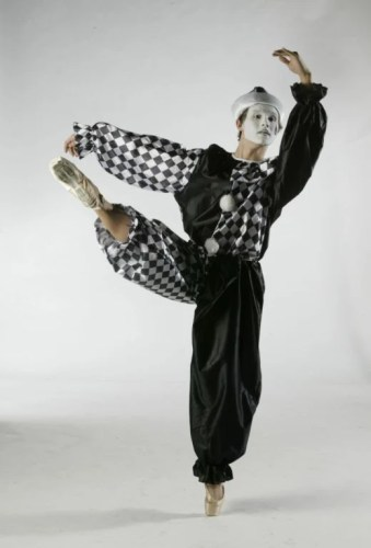Chase Johnsey's last dance concert in High School as Pierrot Lunaire