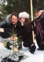 Planting trees with Costantine Orbelian and Ildar Abdrazakov 1