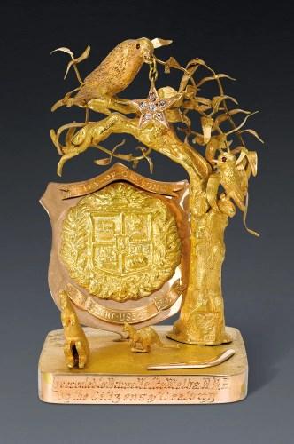 Sotheby's Australia - Dame Nellie Melba paperweight