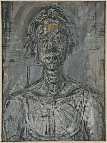 Bust of Annette by Alberto Giacometti, 1954 - copyright Alberto Giacometti Estate, 1954, ACS-DACS, 2015
