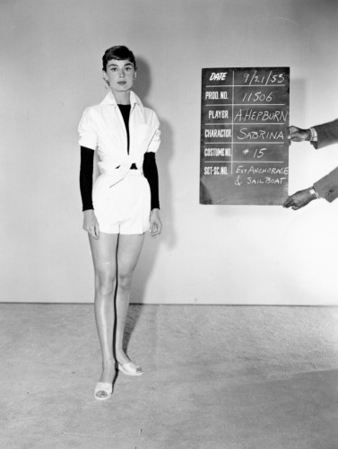 Costume test for Sabrina, Paramount Pictures, 1953