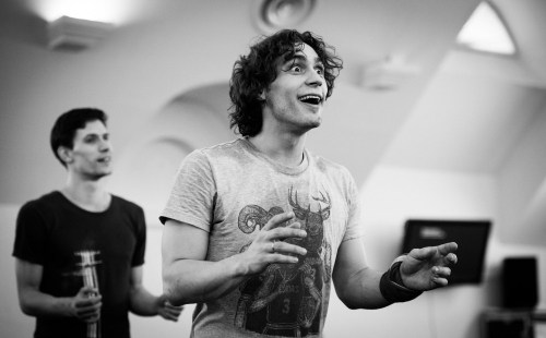 Ivan Vasiliev rehearsing from Ivan Vasiliev and Development Foundation for Contemporary Art and Culture Facebook Page