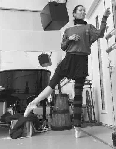 Mara Galeazzi - back with The Royal Ballet