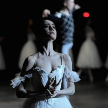 Mathilde Froustey in Giselle with the San Francisco Ballet - photo by Erik Tomasson