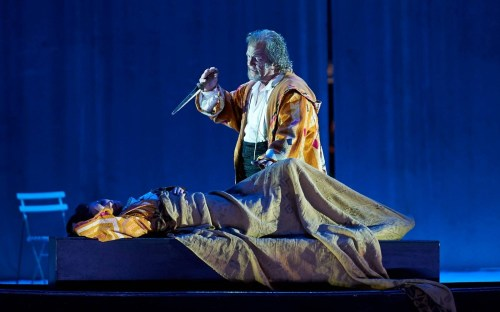 Gregory Kunde as Otello and Olga Peretyatko as Desdemona - La Scala, photo by Matthias Baus