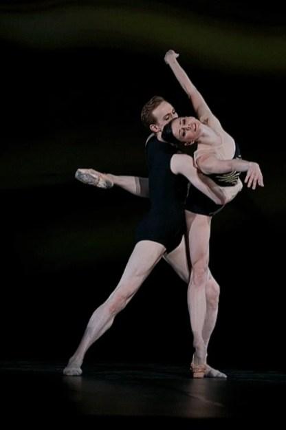 Natalia Osipova and Edward Watson in Zeitgeist - photo by Dasa Wharton